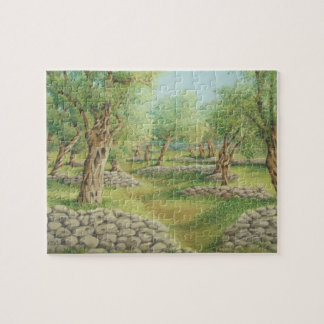 Mediterranean Olive Grove, Spain Jigsaw Puzzle