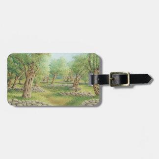 Mediterranean Olive Grove, Spain Luggage Tag