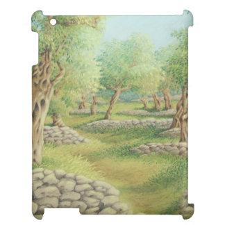 Mediterranean Olive Grove, Spain Pastel iPad Case