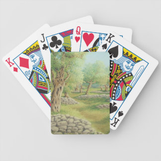 Mediterranean Olive Grove, Spain Playing Cards