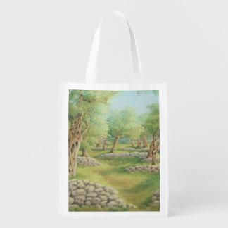 Mediterranean Olive Grove, Spain Reusable Bag