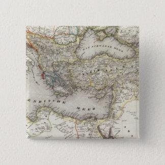 Mediterranean Region 15 Cm Square Badge