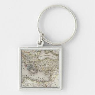 Mediterranean Region Key Ring