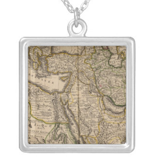 Mediterranean Region Silver Plated Necklace