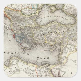 Mediterranean Region Square Sticker