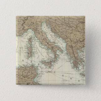 Mediterranean Region, Turkey, Greece 15 Cm Square Badge