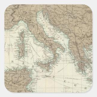 Mediterranean Region, Turkey, Greece Square Sticker