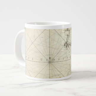 Mediterranean Sea 2 Large Coffee Mug