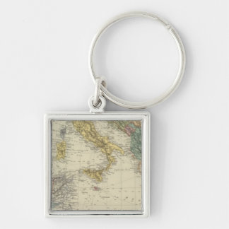 Mediterranean Sea 3 Key Ring