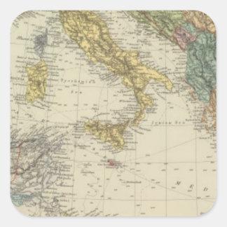 Mediterranean Sea 3 Square Sticker
