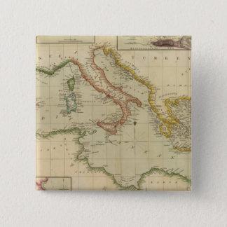 Mediterranean Sea 6 15 Cm Square Badge