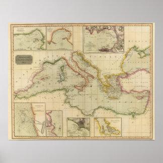 Mediterranean Sea 6 Poster