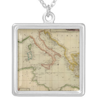 Mediterranean Sea 6 Silver Plated Necklace