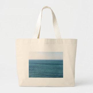 Mediterranean sea along Tuscan coastline Jumbo Tote Bag