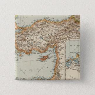 Mediterranean Sea E 15 Cm Square Badge
