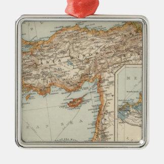 Mediterranean Sea E Christmas Ornament