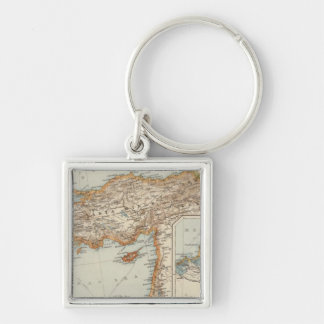 Mediterranean Sea E Key Ring