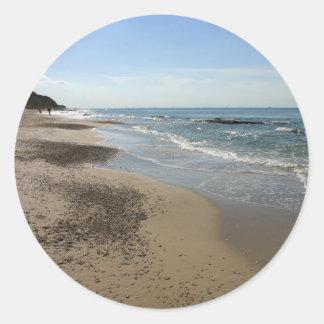 Mediterranean Sea, Israel Classic Round Sticker