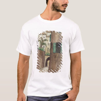 Mediterranean Street and Houses T-Shirt