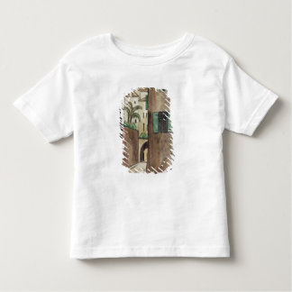 Mediterranean Street and Houses Toddler T-Shirt