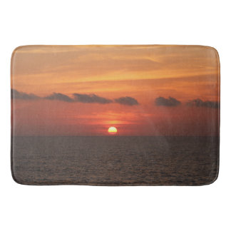 Mediterranean Sunset Bath Mat