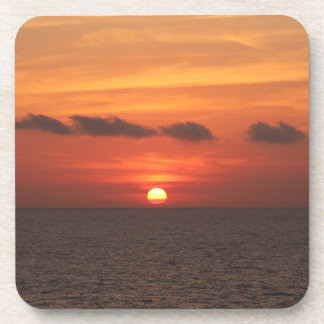 Mediterranean Sunset Coaster