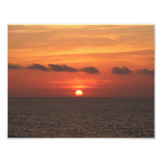 Mediterranean Sunset Photo Print