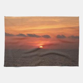 Mediterranean Sunset Towel