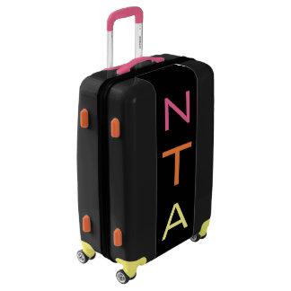 MEDIUM Black+Pink+Orange+Yellow Monogram Luggage