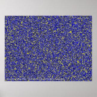 Medium Difficulty Maze #08bg Poster