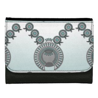 Medium Leather Wallet SQUASH BLOSSOM