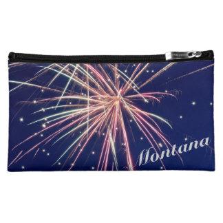 Medium Montana Fireworks Cosmetic Bag