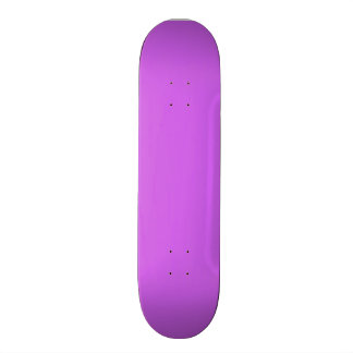 Medium Orchid Solid Color Skate Board Decks