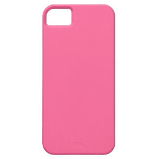 Medium Pink Solid Background Color Template iPhone 5 Covers