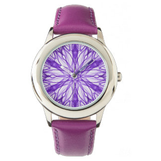 Medium Purple Fractal Watch