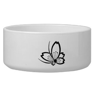Medium shade cherry tree flying butterfly dog water bowl