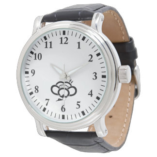 Medium shade plum crane wrist watch