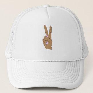 Medium Skin Peace Out Baseball Cap
