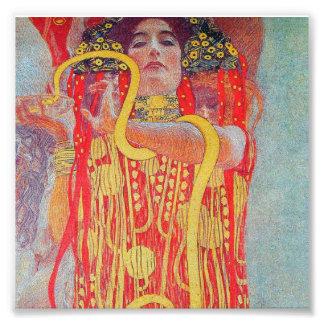medizin by Gustav Klimt,vintage art,art deco,trend Photo Print