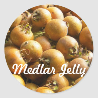 Medlar Jelly Label
