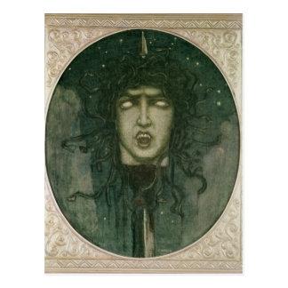 Medusa, 1919 postcard