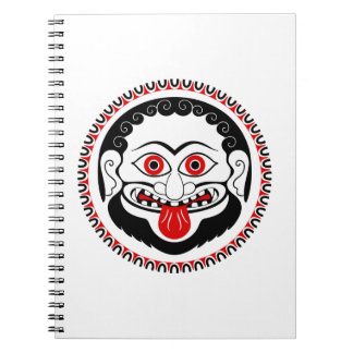 medusa 3.jpg spiral note book