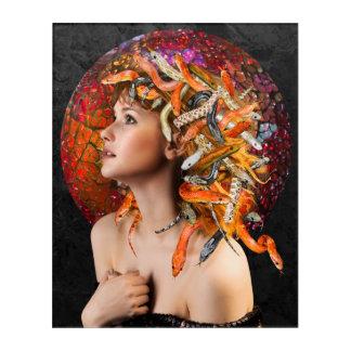 Medusa Acrylic Wall Art