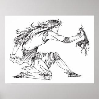 Medusa Aubrey Beardsley Posters