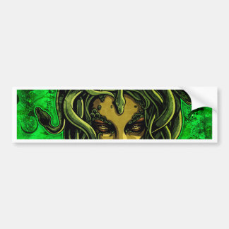 Medusa Bumper Sticker