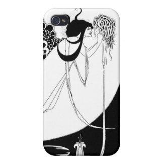 Medusa by Beardsley Black/White Case For The iPhone 4