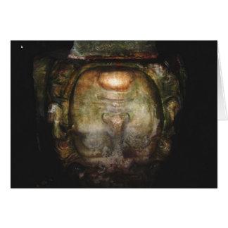 Medusa Column Basilica Cistern Istanbul Greeting Card