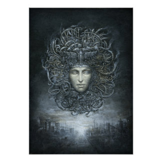 Medusa Cyborg Poster