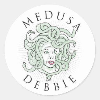 Medusa Debbie -- Sticker 1