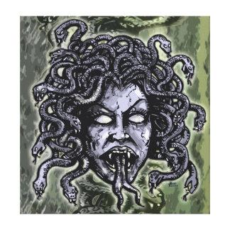 Medusa Gorgon Stretched Canvas Prints